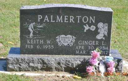 PALMERTON, KEITH W. - Branch County, Michigan   KEITH W. PALMERTON - Michigan Gravestone Photos