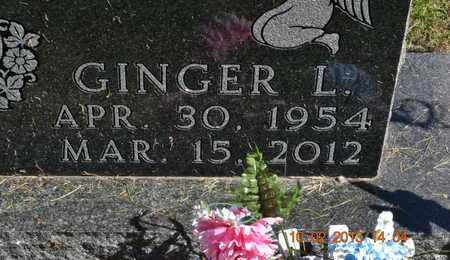 PALMERTON, GINGER L. - Branch County, Michigan   GINGER L. PALMERTON - Michigan Gravestone Photos