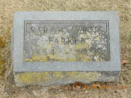 CURTIS PARKER, SARAH - Branch County, Michigan | SARAH CURTIS PARKER - Michigan Gravestone Photos