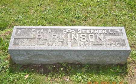 PARKINSON, EVA A. - Branch County, Michigan | EVA A. PARKINSON - Michigan Gravestone Photos