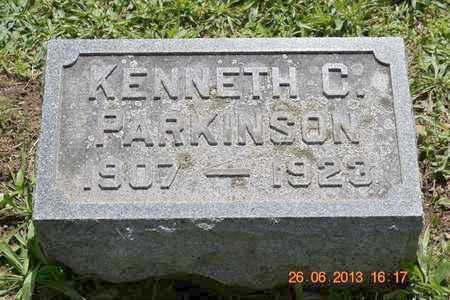 PARKINSON, KENNETH C. - Branch County, Michigan | KENNETH C. PARKINSON - Michigan Gravestone Photos