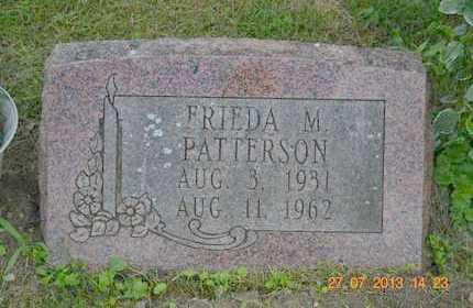 PATTERSON, FRIEDA M. - Branch County, Michigan   FRIEDA M. PATTERSON - Michigan Gravestone Photos