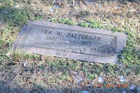 PATTERSON, IRA W. - Branch County, Michigan | IRA W. PATTERSON - Michigan Gravestone Photos