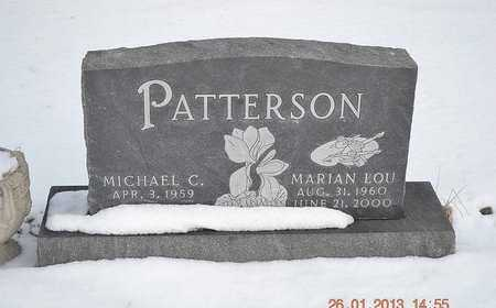 PATTERSON, MARIAN LOU - Branch County, Michigan | MARIAN LOU PATTERSON - Michigan Gravestone Photos