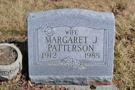 PATTERSON, MARGARET - Branch County, Michigan | MARGARET PATTERSON - Michigan Gravestone Photos