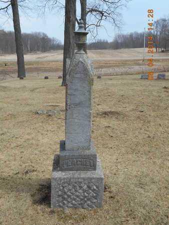 PEACHEY, JESSIE A. - Branch County, Michigan   JESSIE A. PEACHEY - Michigan Gravestone Photos
