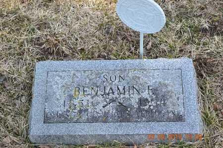 PERKINS, BENJAMIN F. - Branch County, Michigan   BENJAMIN F. PERKINS - Michigan Gravestone Photos
