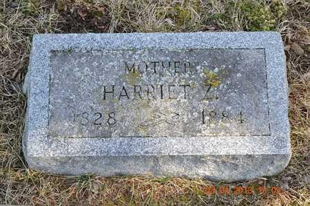 PERKINS, HARRIET Z. - Branch County, Michigan | HARRIET Z. PERKINS - Michigan Gravestone Photos