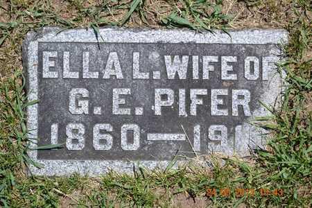 PIFER, ELLA L. - Branch County, Michigan | ELLA L. PIFER - Michigan Gravestone Photos