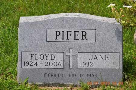 PIFER, JANE - Branch County, Michigan | JANE PIFER - Michigan Gravestone Photos
