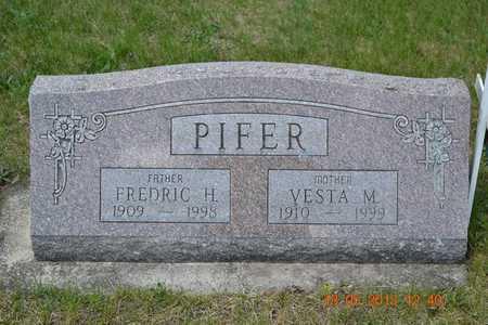 PIFER, VESTA M. - Branch County, Michigan   VESTA M. PIFER - Michigan Gravestone Photos