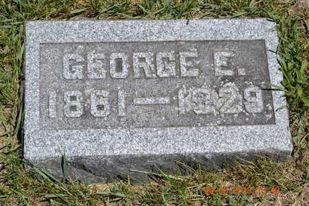 PIFER, GEORGE E. - Branch County, Michigan | GEORGE E. PIFER - Michigan Gravestone Photos