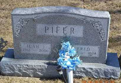 PIFER, FRED - Branch County, Michigan | FRED PIFER - Michigan Gravestone Photos