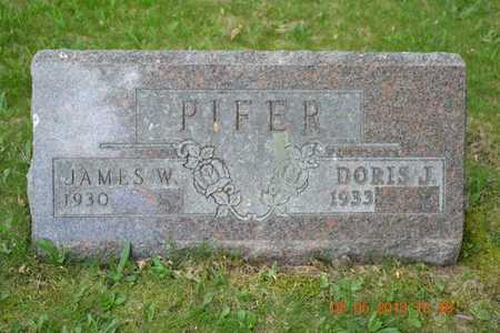 PIFER, JAMES W. - Branch County, Michigan | JAMES W. PIFER - Michigan Gravestone Photos