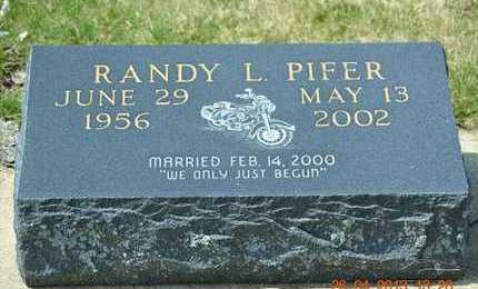 PIFER, RANDY L. - Branch County, Michigan | RANDY L. PIFER - Michigan Gravestone Photos