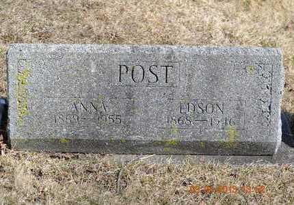 POST, ANNA - Branch County, Michigan | ANNA POST - Michigan Gravestone Photos