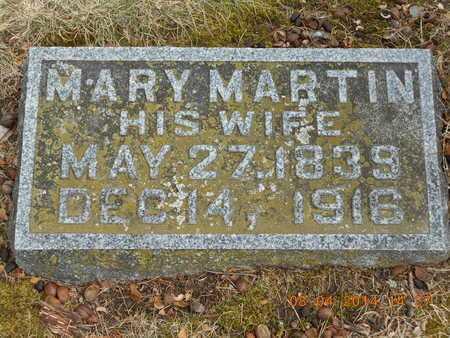 QUICK, MARY - Branch County, Michigan   MARY QUICK - Michigan Gravestone Photos