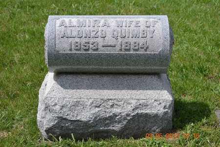 QUIMBY, ALMIRA - Branch County, Michigan | ALMIRA QUIMBY - Michigan Gravestone Photos