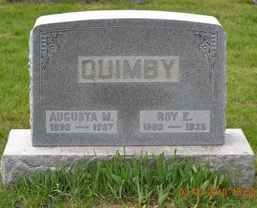 QUIMBY, ROY E. - Branch County, Michigan | ROY E. QUIMBY - Michigan Gravestone Photos