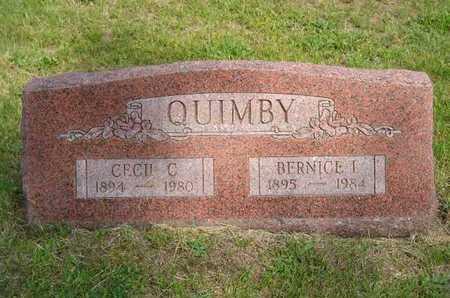 QUIMBY, CECIL C. - Branch County, Michigan   CECIL C. QUIMBY - Michigan Gravestone Photos
