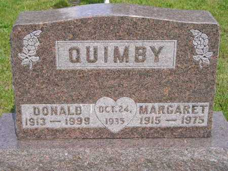 QUIMBY, MARGARET - Branch County, Michigan | MARGARET QUIMBY - Michigan Gravestone Photos