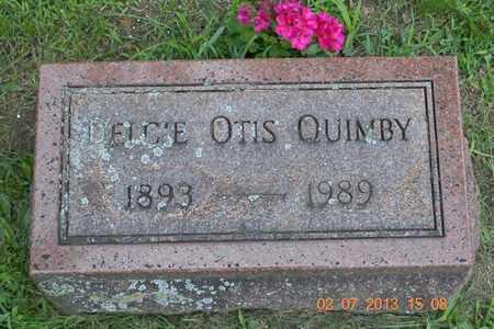 QUIMBY, DELCIE - Branch County, Michigan | DELCIE QUIMBY - Michigan Gravestone Photos
