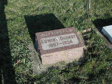 QUIMBY, EDWIN - Branch County, Michigan | EDWIN QUIMBY - Michigan Gravestone Photos