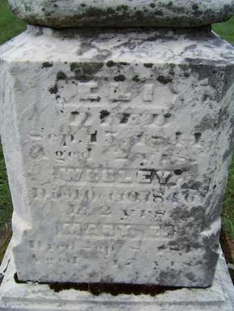 QUIMBY, ELI - Branch County, Michigan   ELI QUIMBY - Michigan Gravestone Photos