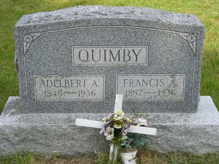 QUIMBY, FRANCIS A. - Branch County, Michigan | FRANCIS A. QUIMBY - Michigan Gravestone Photos