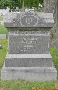 QUIMBY, FRED - Branch County, Michigan | FRED QUIMBY - Michigan Gravestone Photos