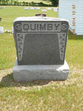 QUIMBY, FAMILY - Branch County, Michigan | FAMILY QUIMBY - Michigan Gravestone Photos