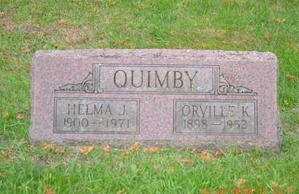 QUIMBY, HELMA J. - Branch County, Michigan | HELMA J. QUIMBY - Michigan Gravestone Photos