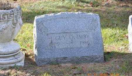 QUIMBY, H. GUY - Branch County, Michigan | H. GUY QUIMBY - Michigan Gravestone Photos