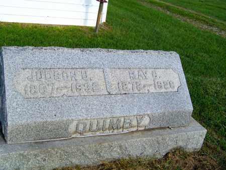 QUIMBY, MAY - Branch County, Michigan | MAY QUIMBY - Michigan Gravestone Photos