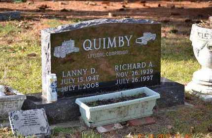 QUIMBY, RICHARD A. - Branch County, Michigan | RICHARD A. QUIMBY - Michigan Gravestone Photos