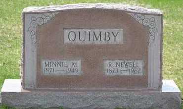 QUIMBY, R. NEWELL - Branch County, Michigan | R. NEWELL QUIMBY - Michigan Gravestone Photos