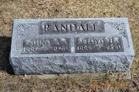 RANDALL, JUNO A. - Branch County, Michigan | JUNO A. RANDALL - Michigan Gravestone Photos