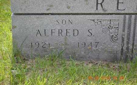 REED, ALFRED S. - Branch County, Michigan | ALFRED S. REED - Michigan Gravestone Photos