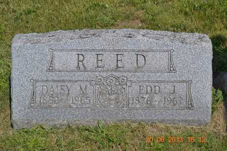 REED, EDD J. - Branch County, Michigan | EDD J. REED - Michigan Gravestone Photos