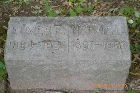 REED, NELLIE L. - Branch County, Michigan | NELLIE L. REED - Michigan Gravestone Photos