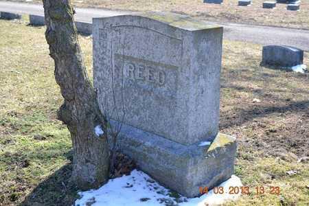 REED, ELIZABETH - Branch County, Michigan | ELIZABETH REED - Michigan Gravestone Photos