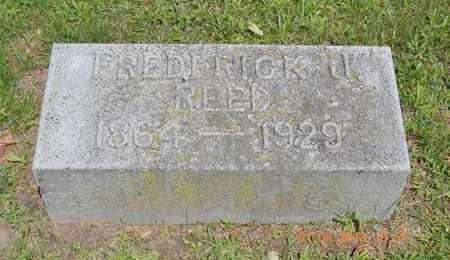 REED, FREDERICK J. - Branch County, Michigan | FREDERICK J. REED - Michigan Gravestone Photos