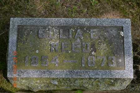 REED, GULIA E. - Branch County, Michigan | GULIA E. REED - Michigan Gravestone Photos