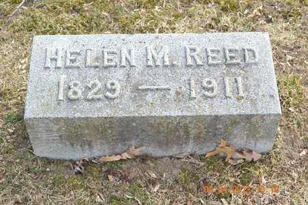 REED, HELEN M. - Branch County, Michigan   HELEN M. REED - Michigan Gravestone Photos