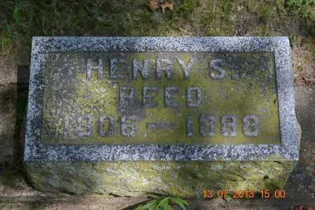 REED, HENRY S. - Branch County, Michigan | HENRY S. REED - Michigan Gravestone Photos