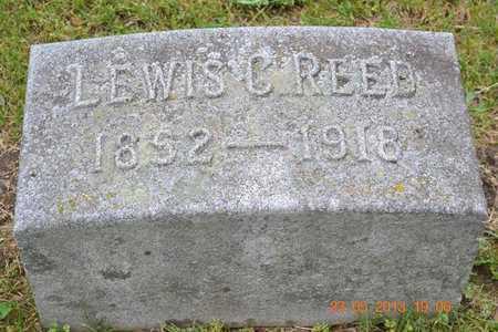 REED, LEWIS C. - Branch County, Michigan   LEWIS C. REED - Michigan Gravestone Photos