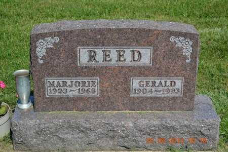 REED, GERALD - Branch County, Michigan | GERALD REED - Michigan Gravestone Photos