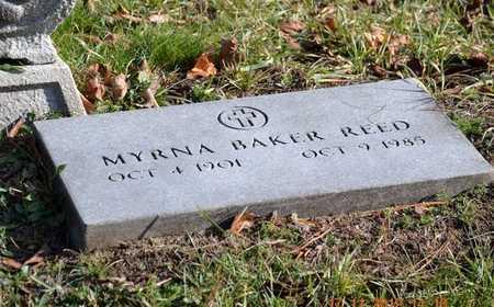 REED, MYRNA - Branch County, Michigan | MYRNA REED - Michigan Gravestone Photos