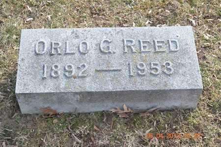 REED, ORLO G. - Branch County, Michigan | ORLO G. REED - Michigan Gravestone Photos