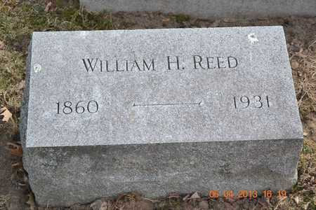 REED, WILLIAM H. - Branch County, Michigan   WILLIAM H. REED - Michigan Gravestone Photos